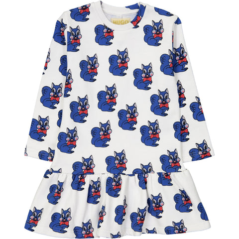 Sweater Dress - Blue Squirrel