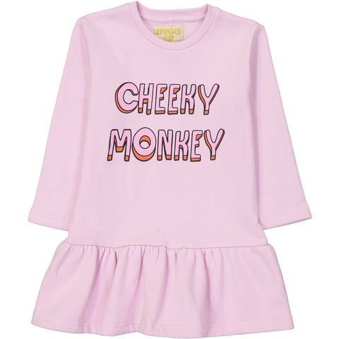 Sweater Dress - Cheeky Monkey Chest