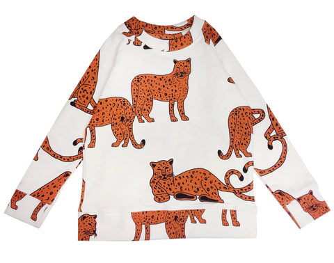 Sweatshirt- KIP AND CO Cheetah