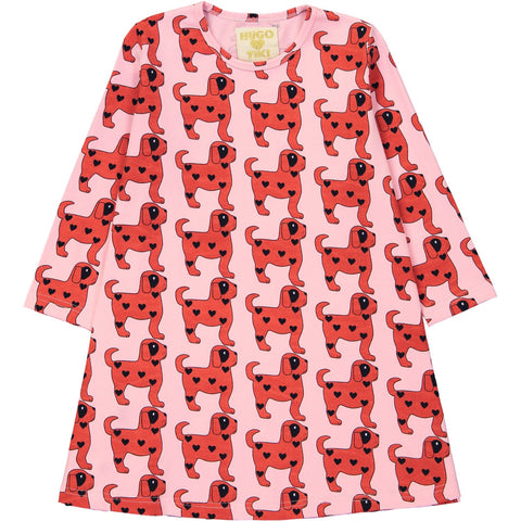 Swing Dress - Red Dogs