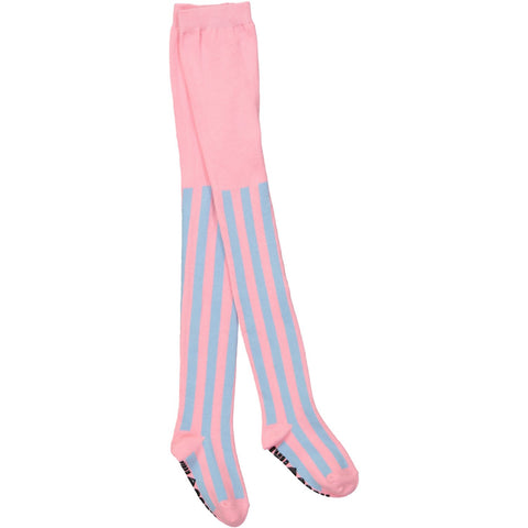 Tights - Cotton Candy Stripe
