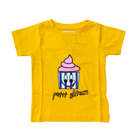 Yellow Cupcake T Shirt