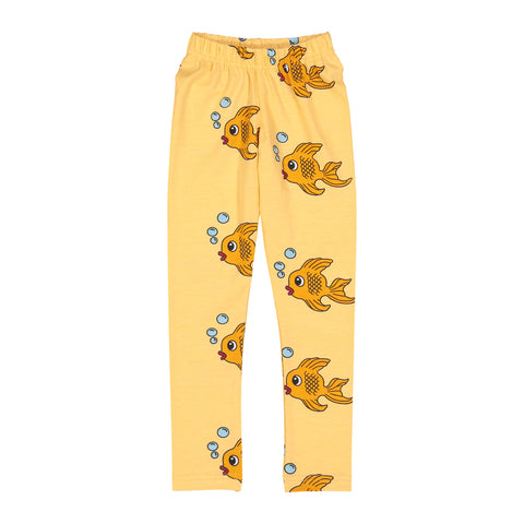 Leggings - Yellow Fish