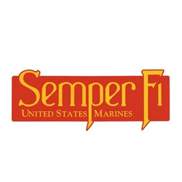 1216 U.S.M.C. SEMPER FI BUMPER STICKER/ WINDOW DECAL