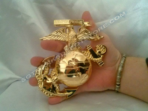 "MD1006 (MD032) MEDALLION-USMC (6 "") EGA"