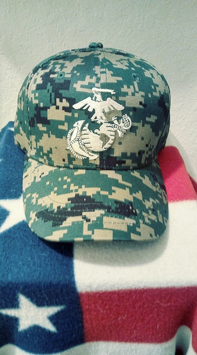 Military Hat Baseball Cap Officially Licensed MCU USMC United States Marine