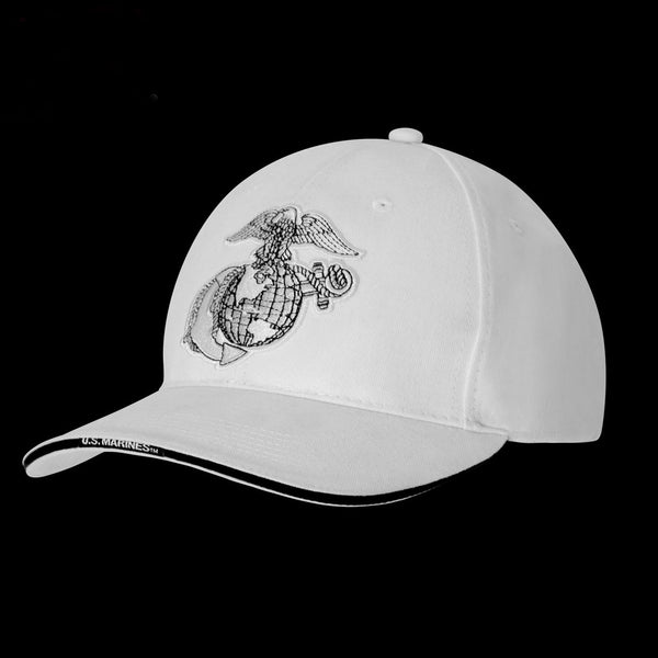 3613 Deluxe Globe & Anchor Low Profile Cap