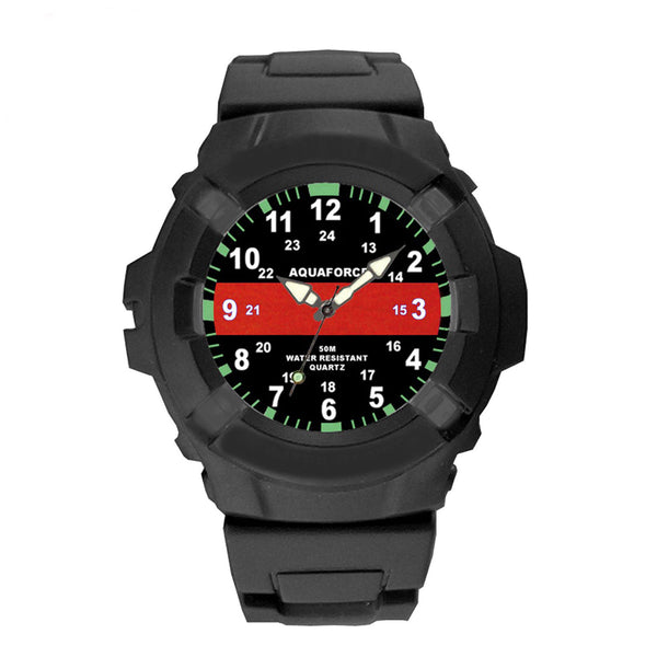 4391 Aquaforce Thin Red Line Watch