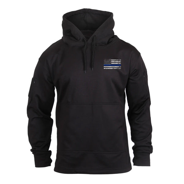 52071 Thin Blue Line Concealed Carry Hoodie