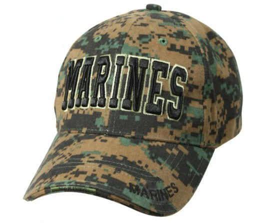 9588 Deluxe Marines Low Profile Insignia Cap Roth