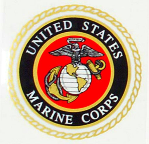 1219 U.S. MARINE CORPS SEAL DECAL