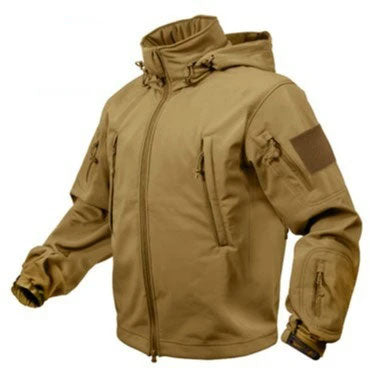 9867 ROTHCO SPECIAL OPS TACTICAL SOFTSHELL JACKET - COYOTE