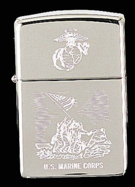 U.S. MARINE CORPS ZIPPO LIGHTER Item #4940 - Sgt. Mark's Depot Store