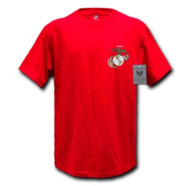 S26 - Basic Military T-Shirts Rapid Red EGA