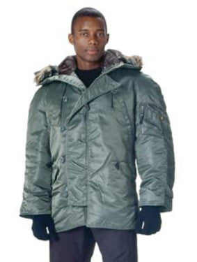 9387 ULTRA FORCE™ SAGE N- 3B PARKA Item Roth