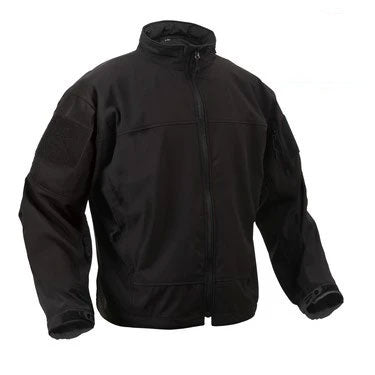 5262 Lightweight Soft Shell Jacket BLACK