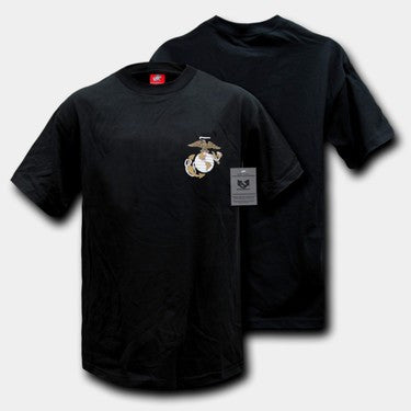 S26 - Basic Military T-Shirts BLACK - Sgt. Mark's Depot Store