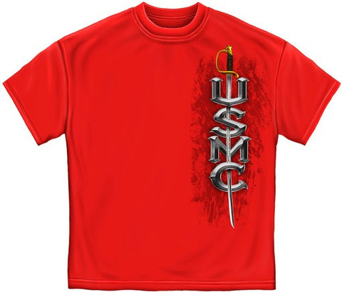MM118 USMC..SEMPER FIDELIS..(RED) - Sgt. Mark's Depot Store