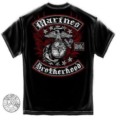 MM2141 USMC MARINE BIKER WITH ROCKERS/FOIL STAMP