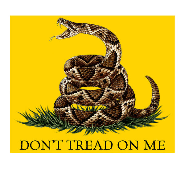MM103-TB FLEECE 50 x 60 BLANKET DON'T TREAD ON ME