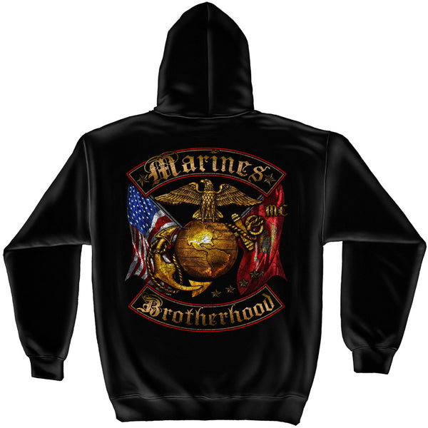 MM2239SW USMC BROTHERHOOD DISTRESSED GOLD FOIL