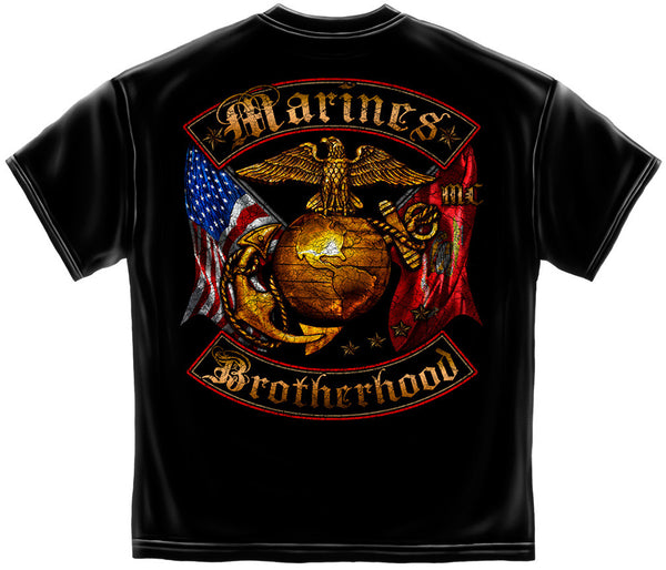 MM2239 USMC BROTHERHOOD DISTRESSED GOLD FOIL