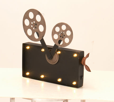 "15"" Movie Film Camera LED Wall Light Sign Hollywood Theater Decor"