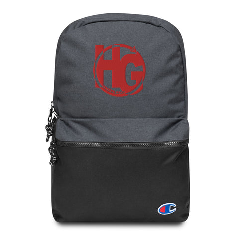 HG Embroidered Champion Backpack