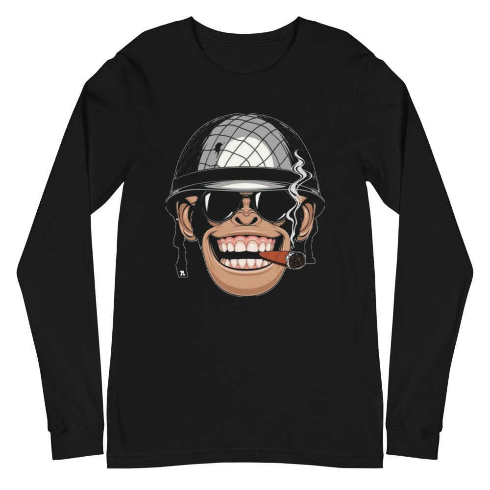 Graphic Art Unisex Long Sleeve Tee