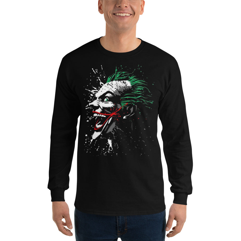 Graphic Art Design Long Sleeve Shirt