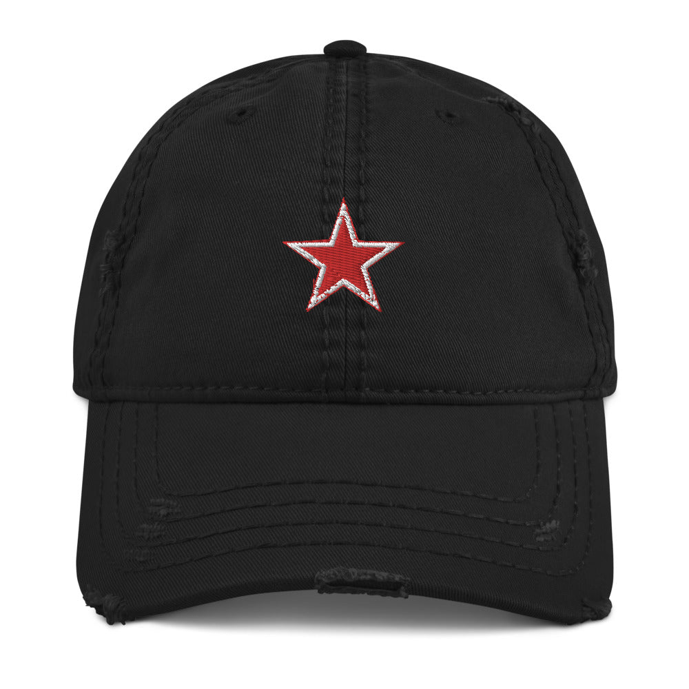 Super Star Distressed Dad Hat