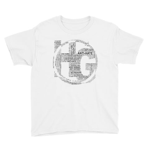 Youth Short Sleeve T-Shirt with Text Logo