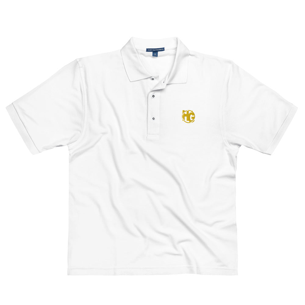 HG Men's Premium Polo (gold)