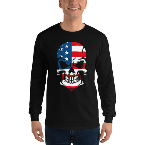 American Skull Long Sleeve Shirt