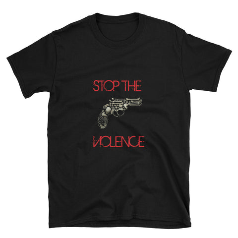 "Unisex T-Shirt ""STOP THE VIOLENCE"" LOGO"