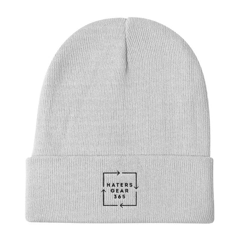 Arrow Logo Knit Beanie