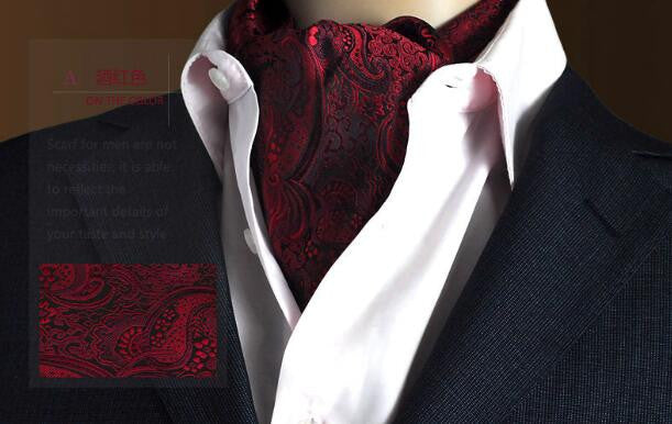 19 Styles Fashion Luxury Duplex Silk Printing Men Scarf Tie