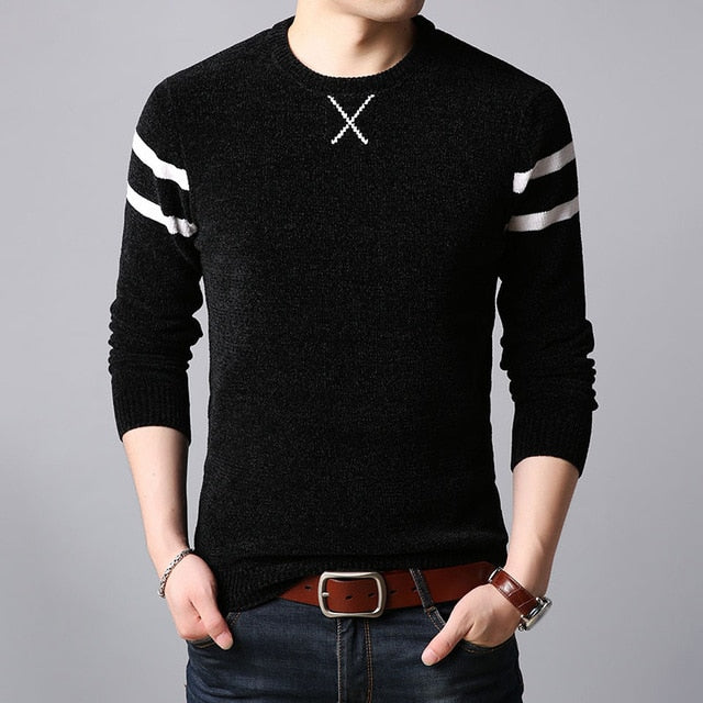 Men Thick Warm Knitwear Sweater