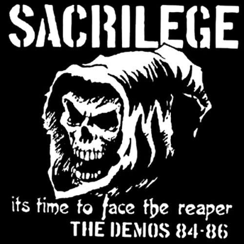 SACRILEGE (U.K.) - It's Time to face the reaper 2xLP Collection