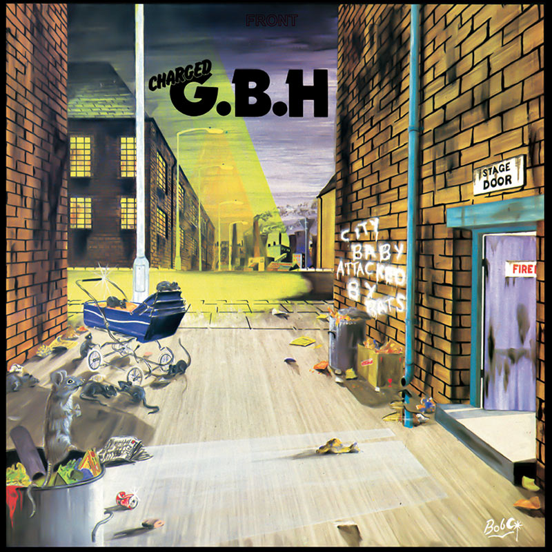 G.B.H. - City Baby Attacked By Rats LP