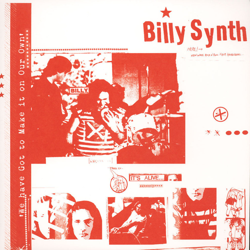 BILLY SYNTH AND THE TURNUPS - We Have Got TO Make It... LP (LAST COPY)