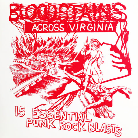 BLOODSTAINS ACROSS VIRGINIA Compilation LP