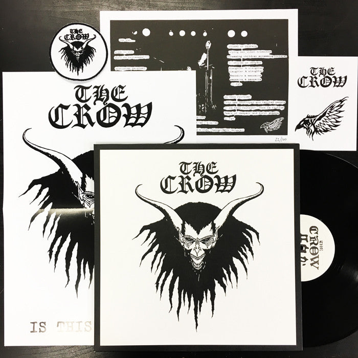 "CROW - The Crow 12"" (Limited Edition Version)"