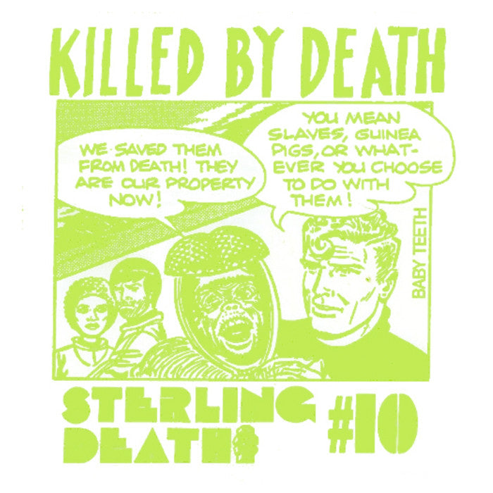 KILLED BY DEATH #10 - Sterling Death
