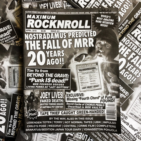 MAXIMUM ROCKNROLL #431 (April 2019)