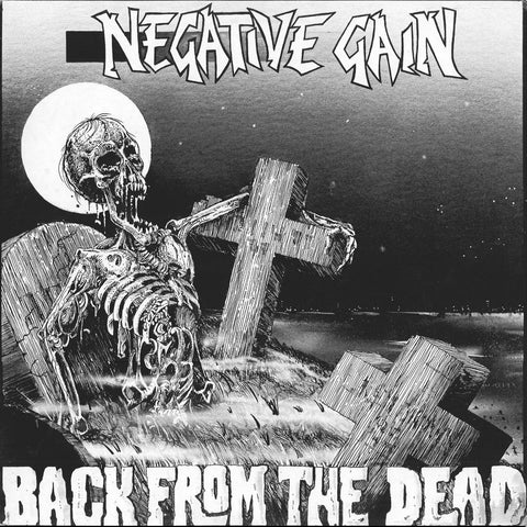 NEGATIVE GAIN - Back From The Dead LP