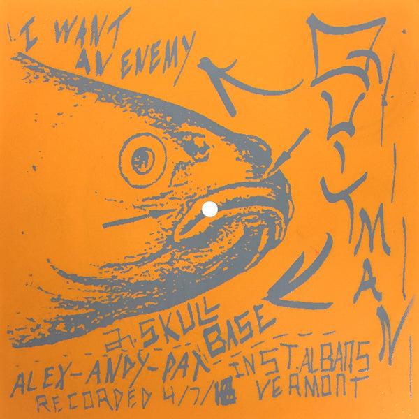 "QUITMAN - I Want An Enemy 7"" Flexi"