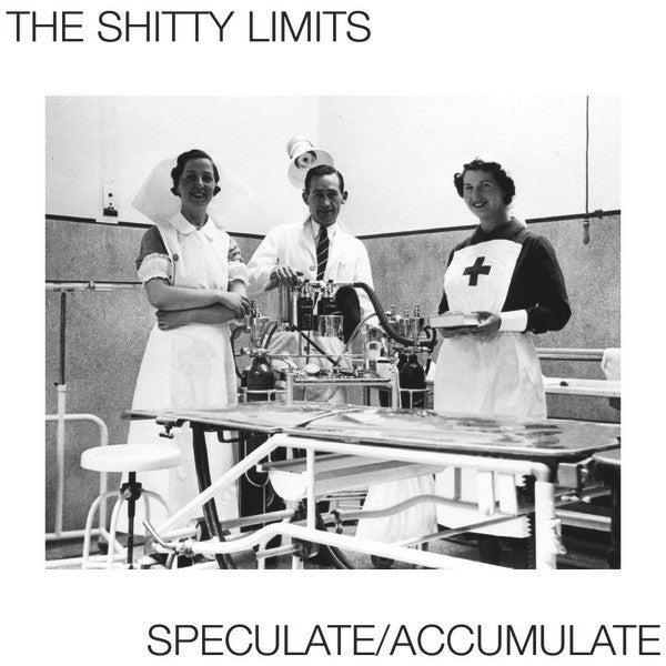 "THE SHITTY LIMITS - Speculate / Accumulate 12"" EP"