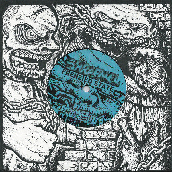 "SHRAPNEL - Frenzied State 7"" (LAST COPY)"