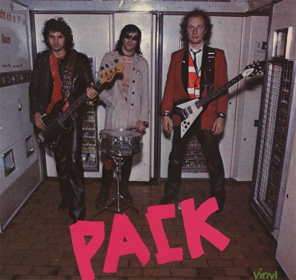 THE PACK - s/t LP